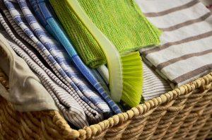 Kuchynské utierky z textilu sú nestarnúce