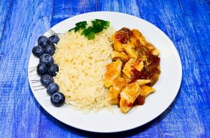Kuracie mäso s jasmínovou ryžou
