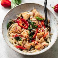 Kuracie mäso s ryžou a zeleninou