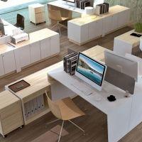 Nábytok do kancelárie pre viac zamestnancov