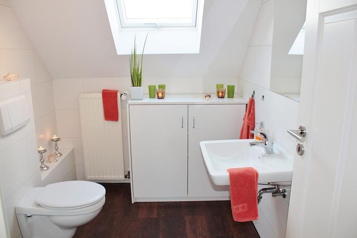 Strešné okno v kúpeľni