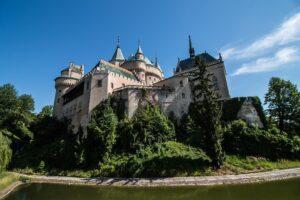 História Slovenska a zámkov