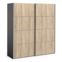 Vstavané skrine na mieru z príjemného dreva
